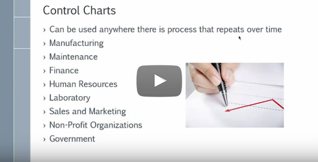 Where are Control Charts Used? [video]