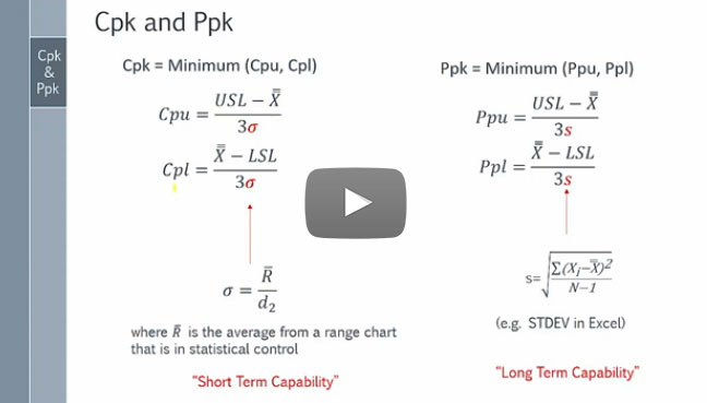 Cpk vs. Ppk: Who Wins? [video]