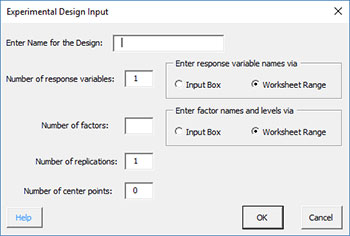 Two Level Designs: Setup Help | BPI Consulting