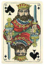 the King of Spades card
