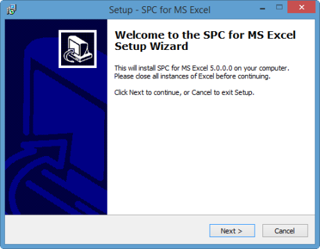 SPC for Excel PC Installation | BPI Consulting