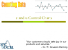 c and u control charts complete teaching guide